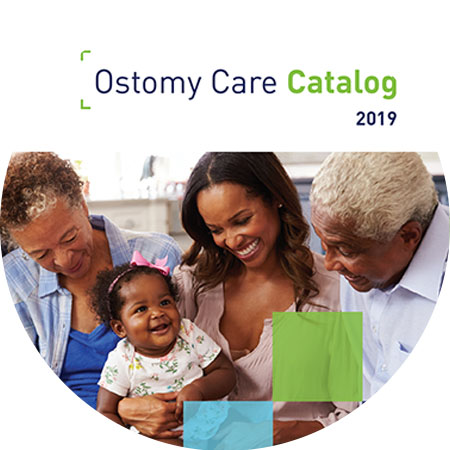Ostomy Product header